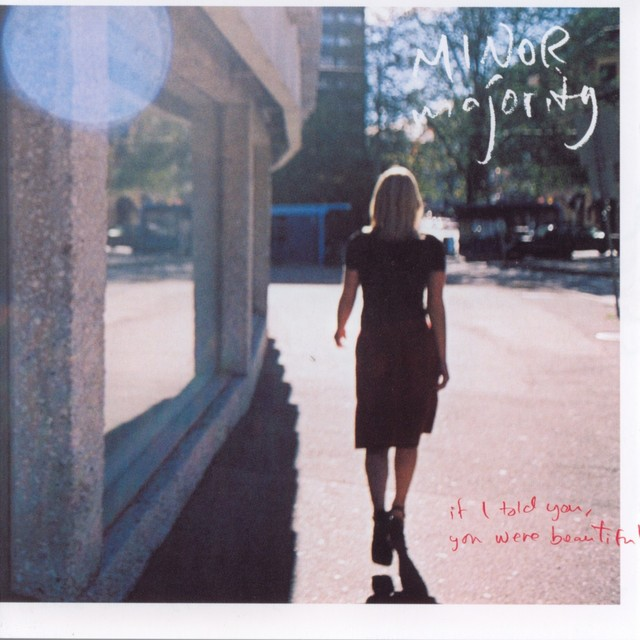 Album cover for If I Told You, You Were Beautiful by Minor Majority