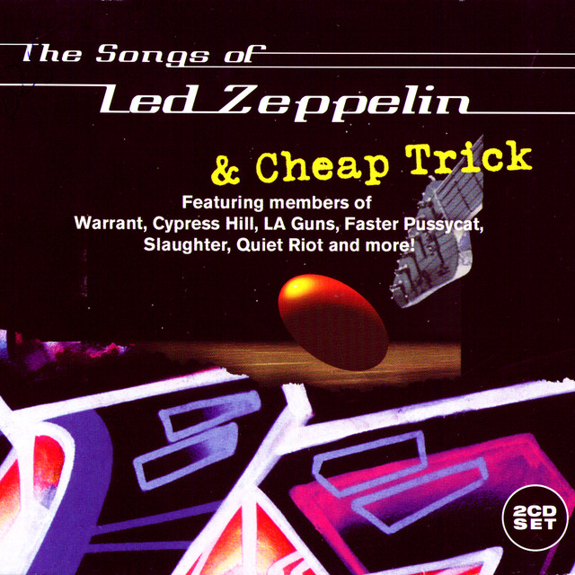 Various Artists The Songs of Led Zeppelin & Cheap Trick album cover
