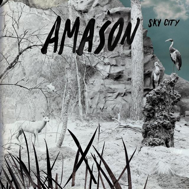 Skivomslag för Amason: Sky City