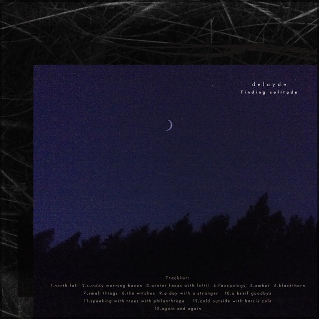 Album cover for finding solitude by Delayde
