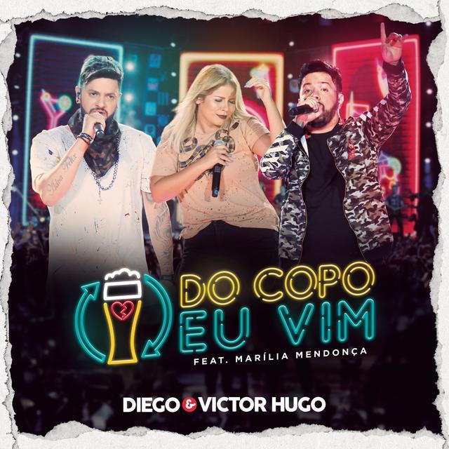 Do Copo Eu Vim (feat. Marília Mendonça) [Ao Vivo em Brasília]