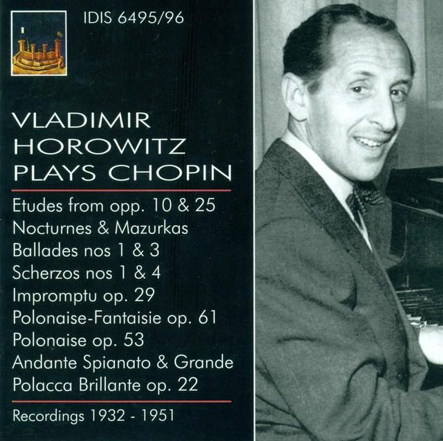 Chopin, F.: Piano Music (Vladimir Horowitz Plays Chopin) (1932-1953) Albumcover
