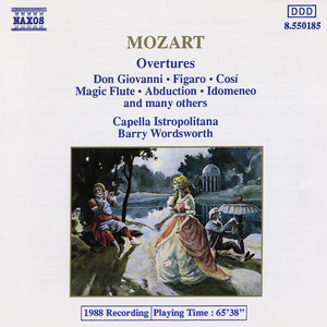 Mozart: Overtures Albumcover