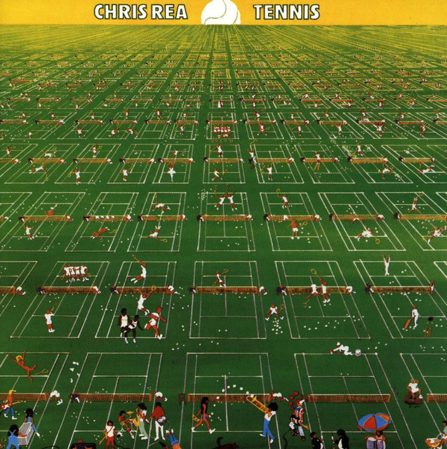 Chris Rea Tennis album cover