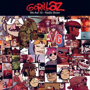 Gorillaz Are Ten - Spotify Radio Show 2 Albumcover
