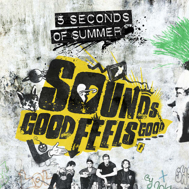 5 Seconds of Summer Sounds Good Feels Good album cover