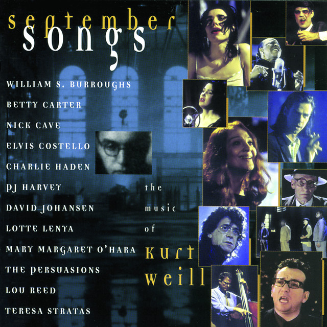 Kurt Weill, Various Artists September Songs album cover