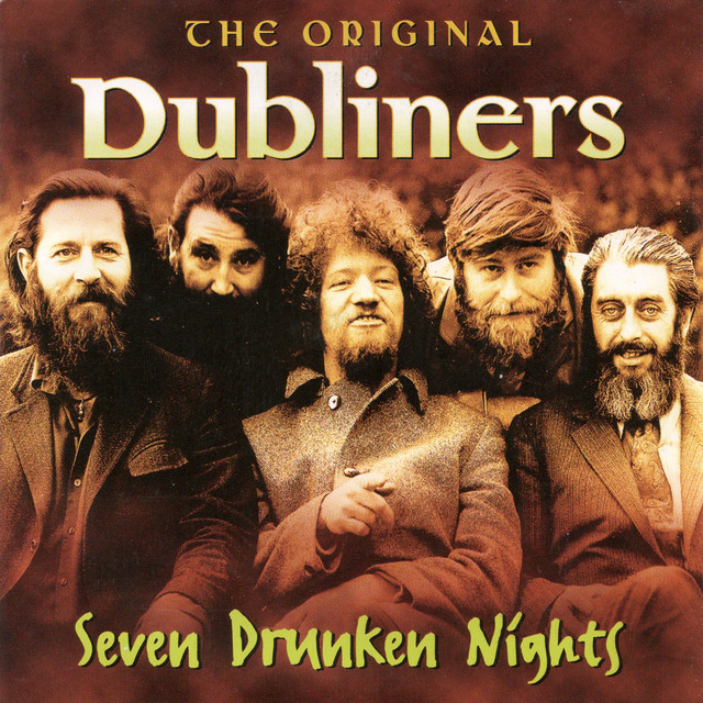 The Dubliners Seven Drunken Nights album cover