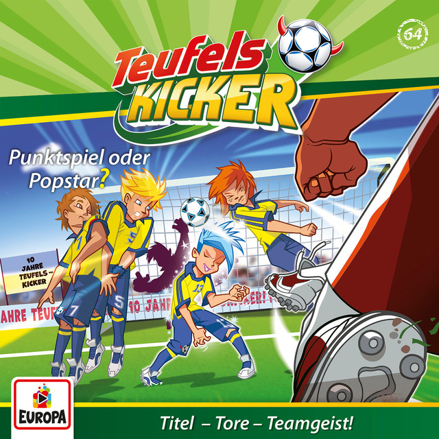 Album cover for 064/Punktspiel oder Popstar? by Teufelskicker