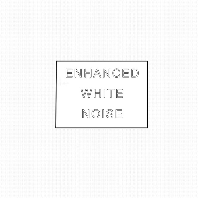 Album cover for Enhanced White Noise by White Noise Industries