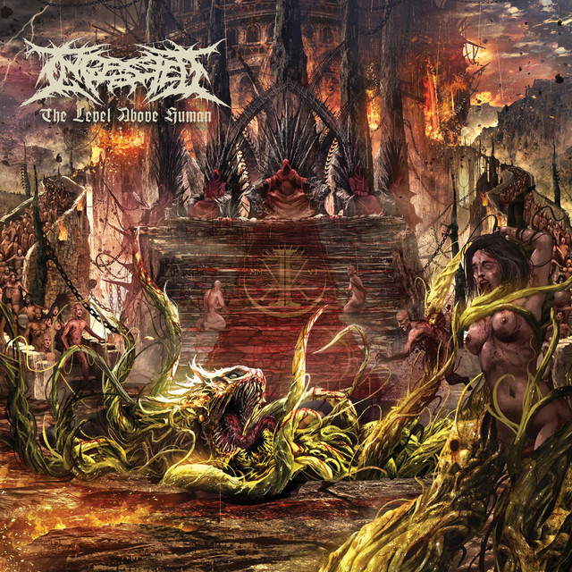 Album cover for The Level Above Human by Ingested