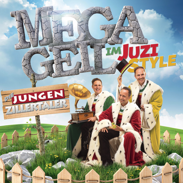 Album cover for MEGAGEIL im JUZI-Style by Die jungen Zillertaler