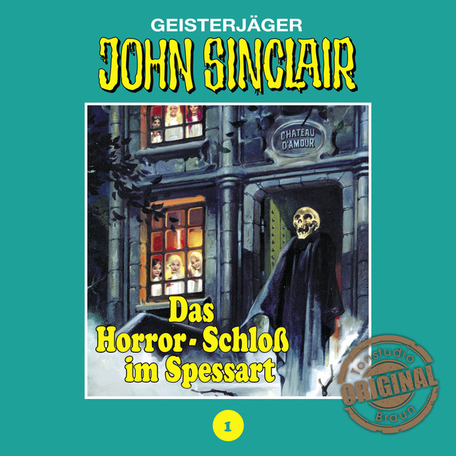 Tonstudio Braun, Folge 1: Das Horror-Schloß im Spessart Cover