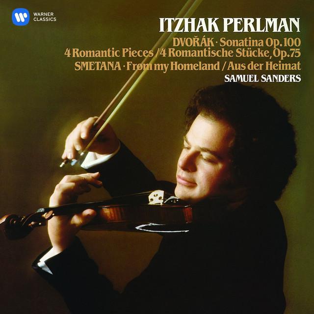 Perlman plays Dvorák & Smetana Albumcover