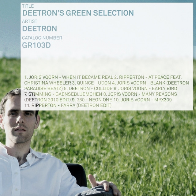 Deetron's Green Selection