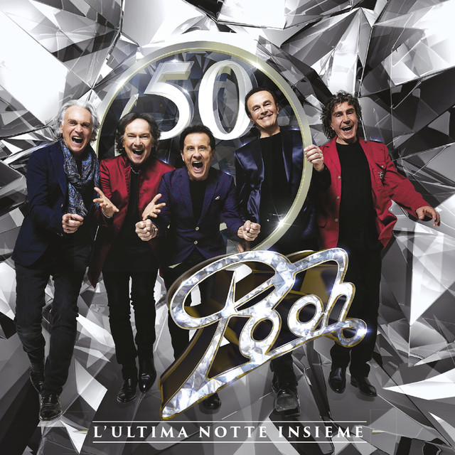 Album cover for Pooh 50 - L'ultima notte insieme by Pooh
