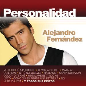 Personalidad - Alejandro Fernandez