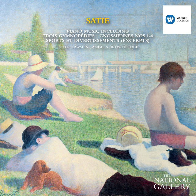 Satie Piano Music [The National Gallery Collection] Albumcover