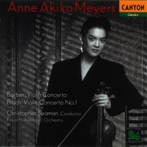 Barber: Violin Concerto - Bruch: Violin Concerto No. 1 album