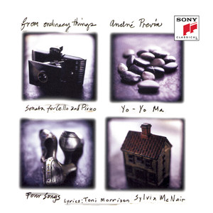 Previn: From Ordinary Things (Remastered) Albümü