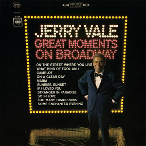 Great Moments on Broadway album
