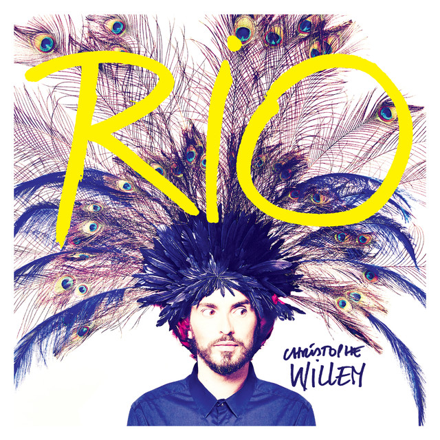 Album cover for Rio by Christophe Willem