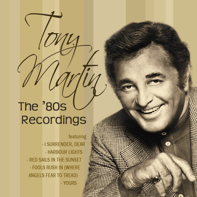 Tony Martin The 80s Recordings album cover