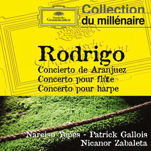 Rodrigo: Concierto de Aranjuez, Concerto pour flûte, Concerto pour harpe album