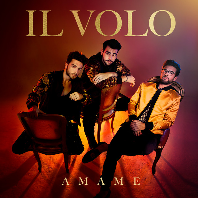 Album cover for Ámame by Il Volo