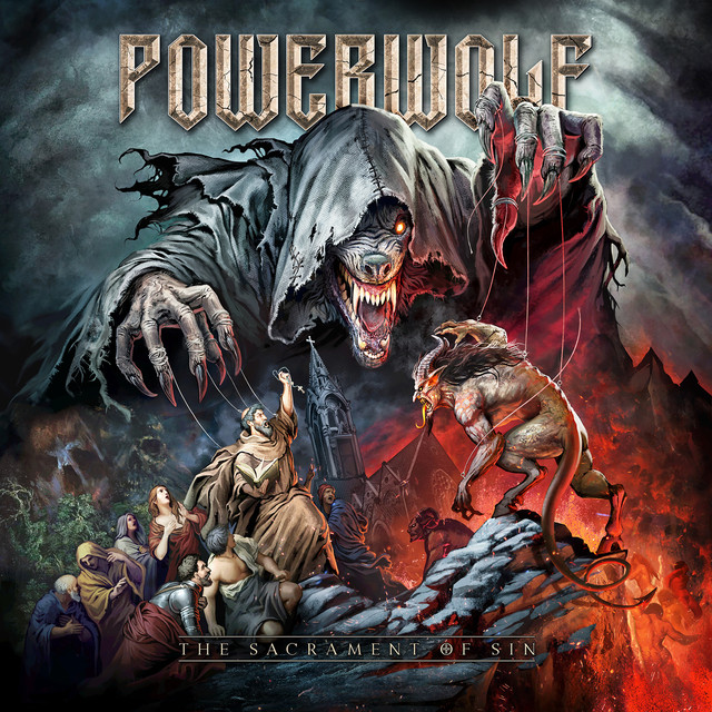 Album cover for The Sacrament Of Sin (Deluxe Version) by Powerwolf