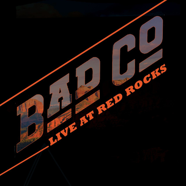 Album cover for Live At Red Rocks by Bad Company
