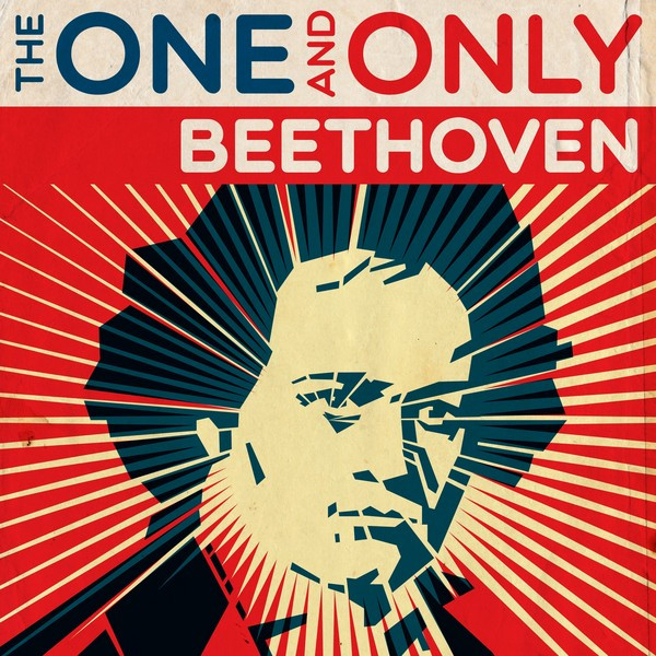 Beethoven - The One and Only Albumcover