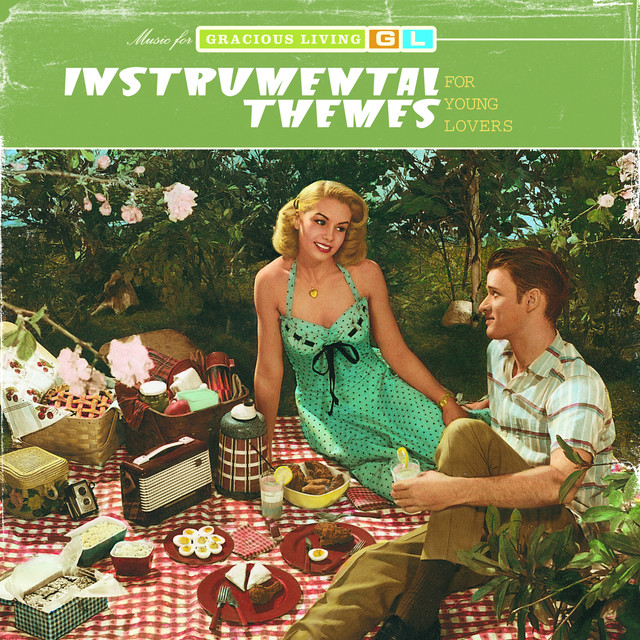 Various Artists Instrumental Themes For Young Lovers (Music For Gracious Living Volume 2) album cover