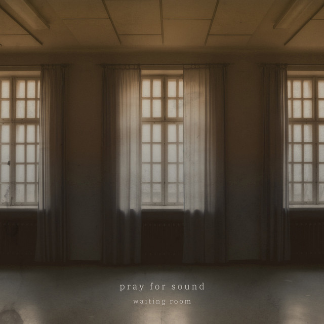 Album cover for Waiting Room by Pray for Sound