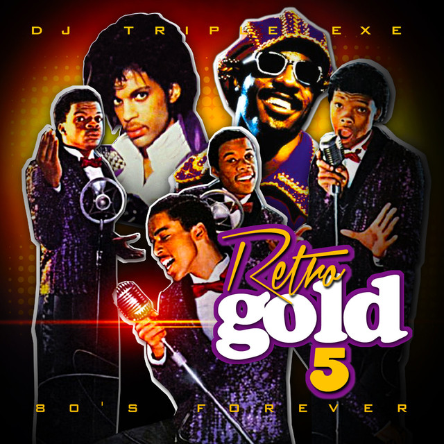 Album cover for Retro Gold 5 by DJ Triple Exe