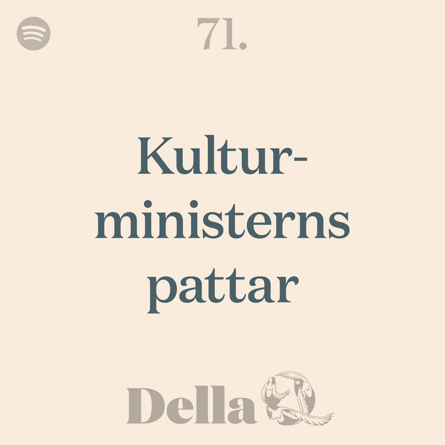 71. Kulturministerns pattar