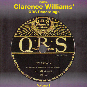 Clarence Williams & His Orchestra Squeeze Me cover