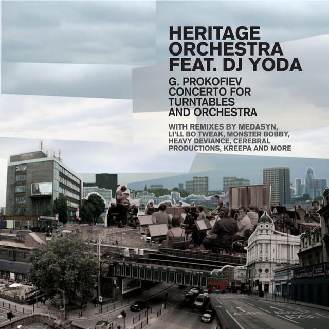 DJ Yoda, Heritage Orchestra, Gabriel Prokofiev, Will Dutta Heritage Orchestra feat. DJ Yoda - G. Prokofiev Concerto for Turntables album cover