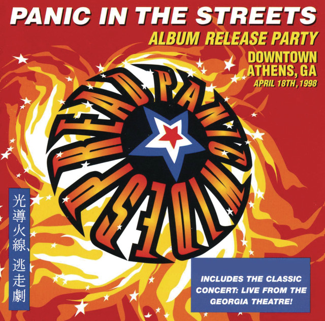 Widespread Panic Panic in the Streets album cover
