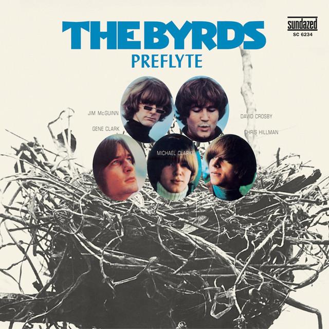 The Byrds Preflyte album cover