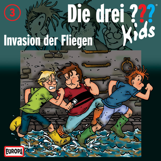003 - Invasion der Fliegen Cover