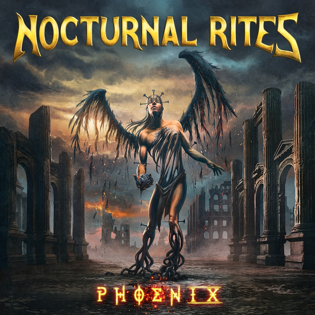 Album cover for Phoenix by Nocturnal Rites
