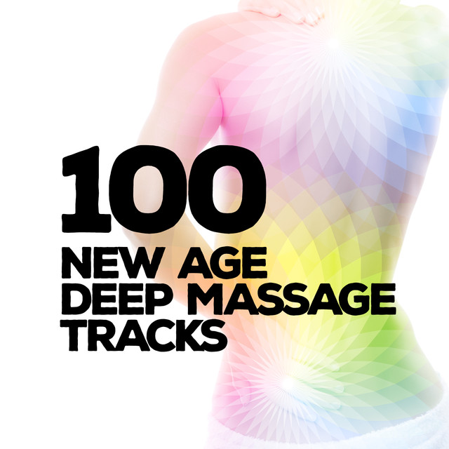 100 New Age Deep Massage Tracks Albumcover
