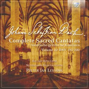 J.S. Bach: Complete Sacred Cantatas Vol. 10, BWV 181-200 album