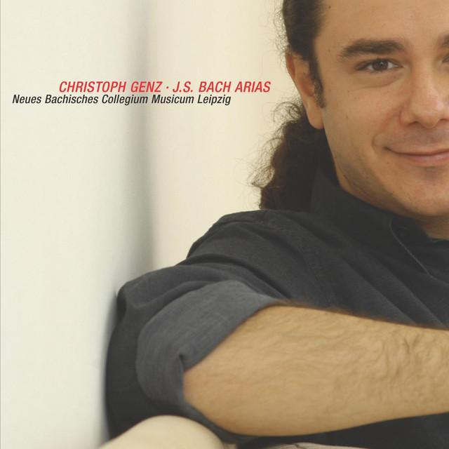 Johann Sebastian Bach: Arias for tenor Albumcover