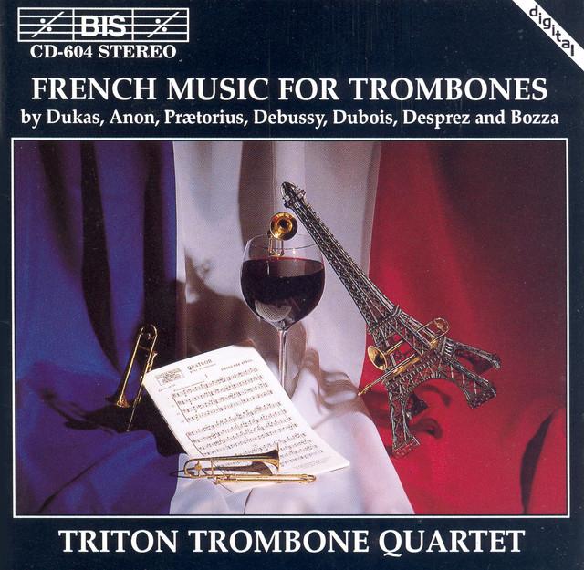 Desprez, F. / Bozza / Praetorius: Trombone Music Albumcover