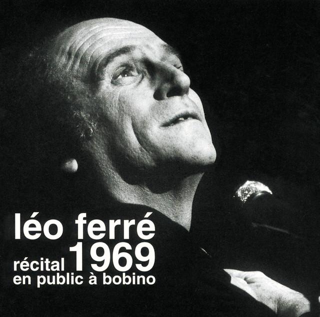 Léo Ferré en public