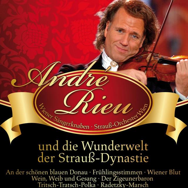André Rieu: und die Wunderwelt der Strauss-Dynastie Albumcover