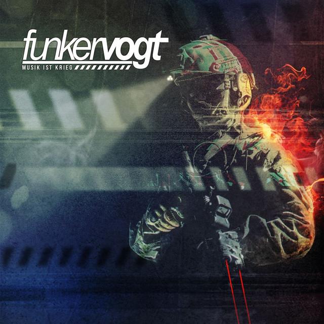 Album cover for Musik ist Krieg by Funker Vogt