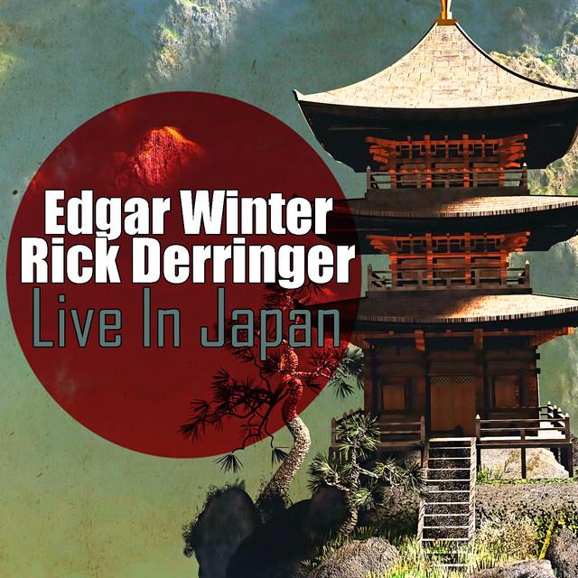 Edgar Winter, Rick Derringer Live in Japan album cover